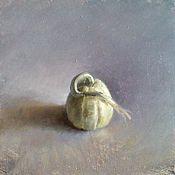 Stilleven met Sierappel, 16x16cm, 2008.
