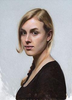 Portret, 29x40cm, 2014.