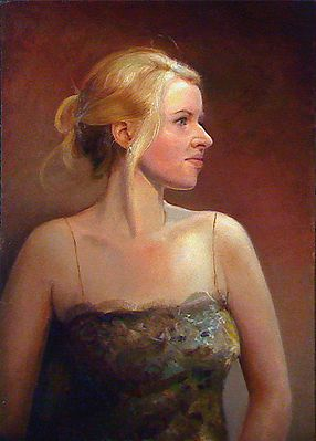 Portret van charlotte, 50x35cm, 2011.