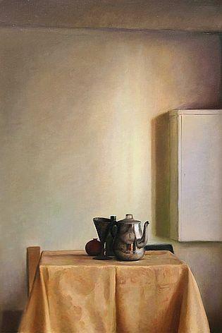 Stilleven met zonlicht, 60x40cm, 2011.