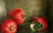 Stilleven met fruit, 17x13cm, 2006.