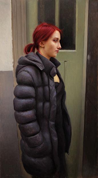 Portret van Magda, 45x81cm, 2013.