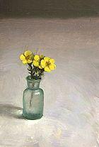 Klein bloemstilleven, 10x15, 2010.
