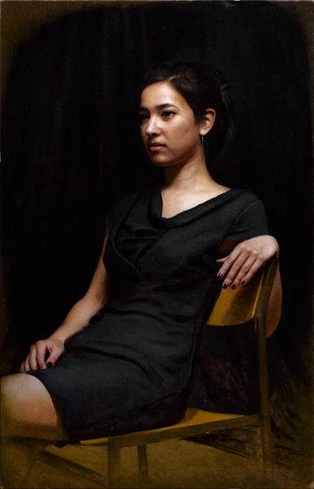 Portret van Irene, 80x51cm, 2013.