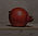 Klein stilleventje met granaatappel, 14x13cm, 2017.